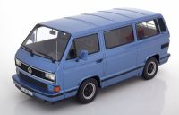 KK Scale Volkswagen Porsche T3 B32 Carrera Bus 1984 Metallic Blue 1:18